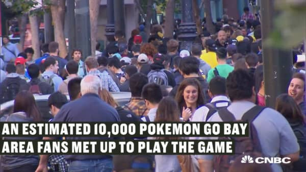 Pokemon fever hits San Francisco
