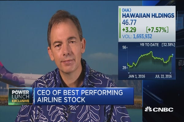 Asia doing well: Hawaiian Airlines CEO