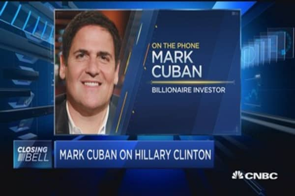 Cuban: Donald Trump doesn't look at small businesses