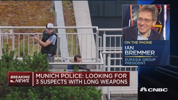 Eurasia Group president on German mall shooting