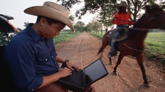 Hi-tech meets the farming life-style in Pak Chong, Saraburi in Thailand.