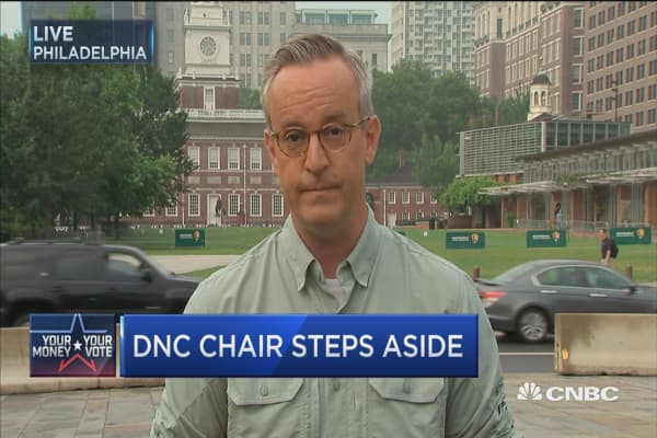 Trouble at the DNC