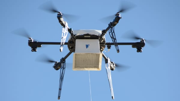 7-Eleven's 1st Drone Delivery