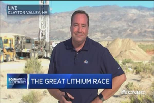 Is lithium the new gas?