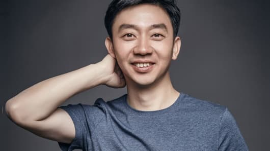 Li Zhifei, chief executive officer and founder of Mobvoi