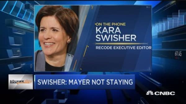 Swisher: Mayer not staying