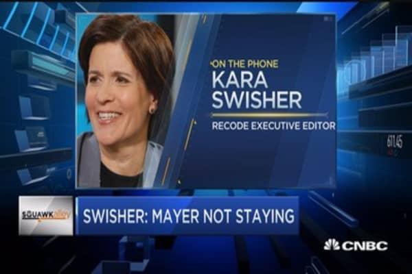Swisher: Mayer not staying