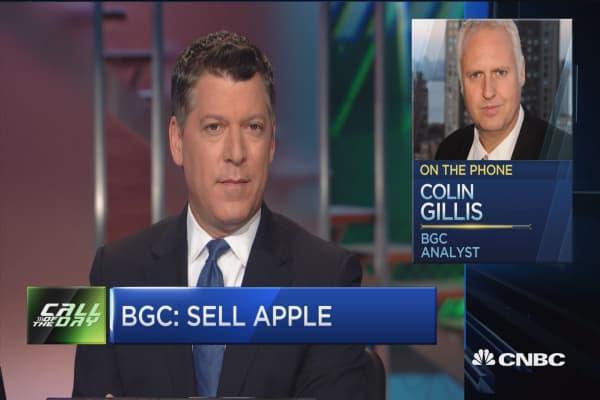 Apple cut to sell at BGC