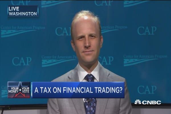 HFT transaction tax a good idea?