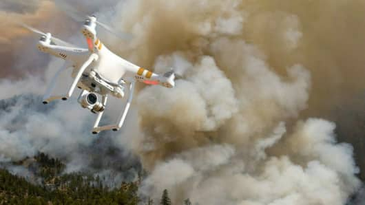 Drone intrusions a growing problem for firefighting efforts.