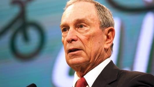 Former Mayor of New York City, Michael Bloomberg