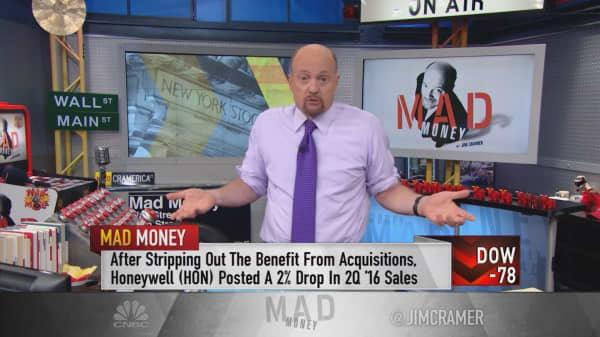 Cramer: Trump & Clinton are bad for the stock market
