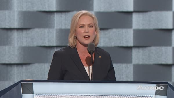 Senator Gillibrand: Clinton vs. Trump on wages