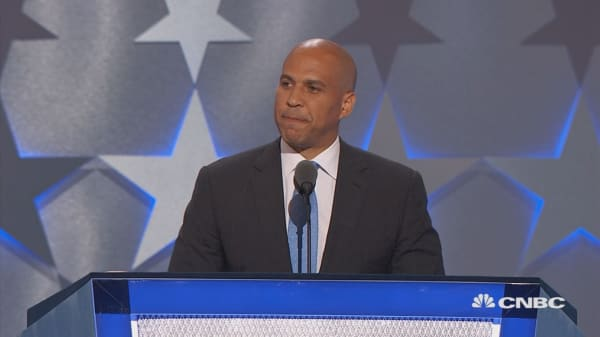 Senator Booker: Must be a nation of love