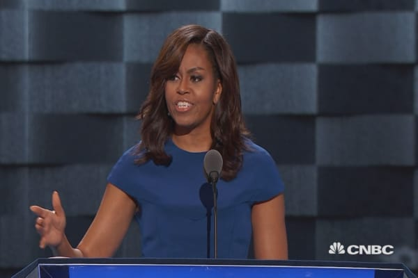 Michelle Obama: Hillary understands what it takes
