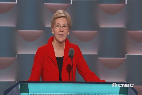 Senator Warren: Trump cares only for himself