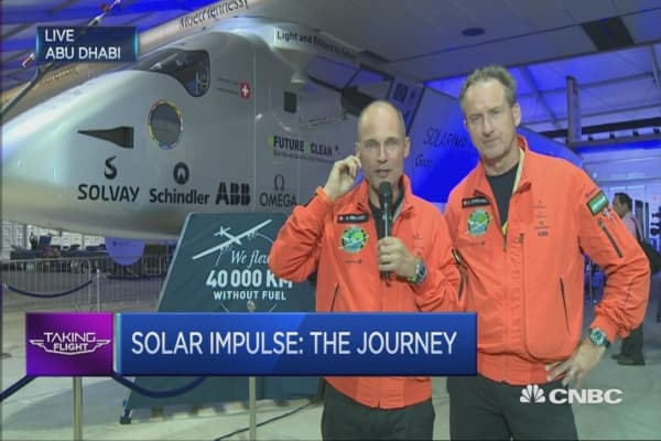 Solar Impulse completes world tour