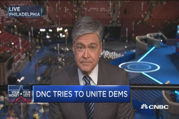 DNC tries to unite Dems