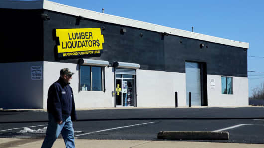 Lumber Liquidators Sales Fall
