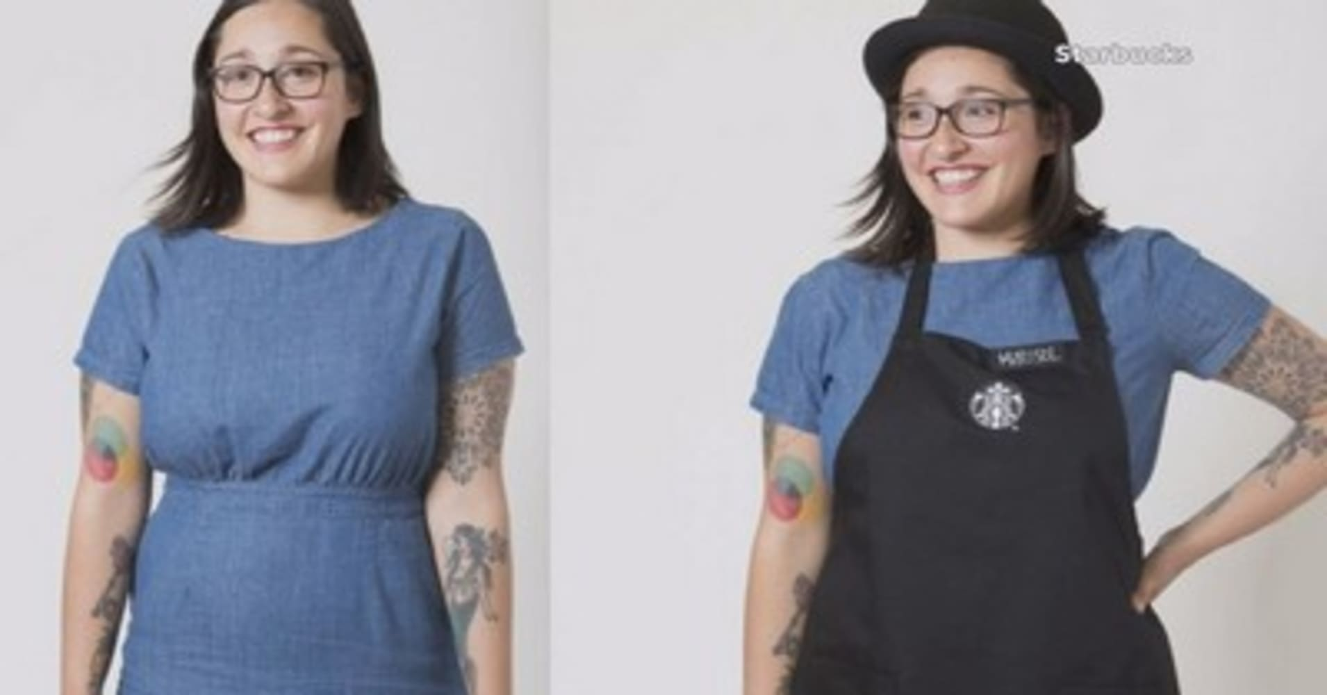 Starbucks baristas are showing their style with a new dress code