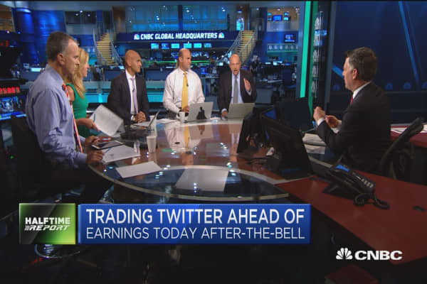 Top trades for the 2nd half: Twitter