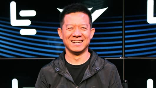 LeEco Global Holdings Ltd Founder, Chairman, CEO Yueting Jia.
