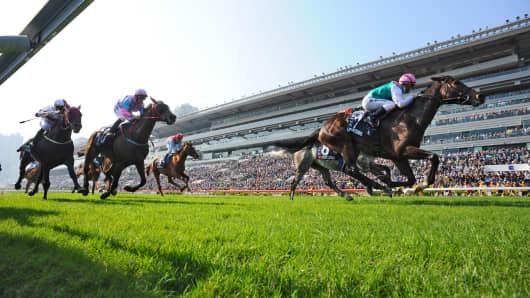 horse race breakout