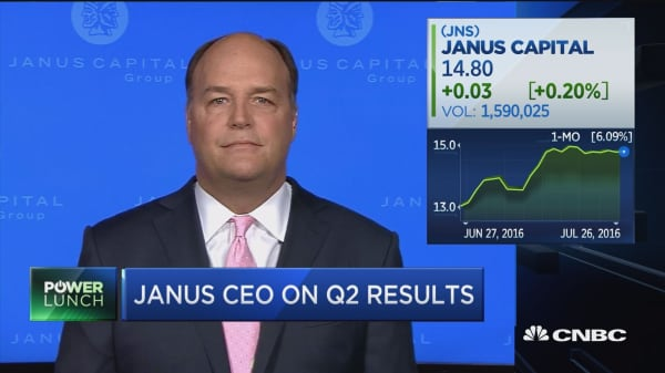 Janus CEO on Q2 results
