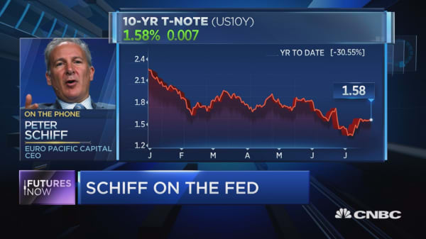 Peter Schiff discusses how the Fed is bluffing