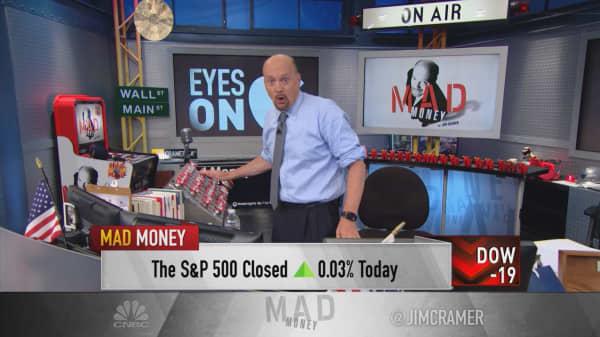 Cramer: Why Apple's revenue decline is bullish for the stock