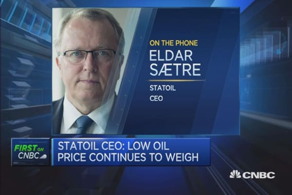 Statoil CEO: On track with cost reductions