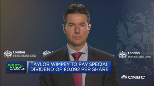 No meaningful change in trading since Brexit: Taylor Wimpey
