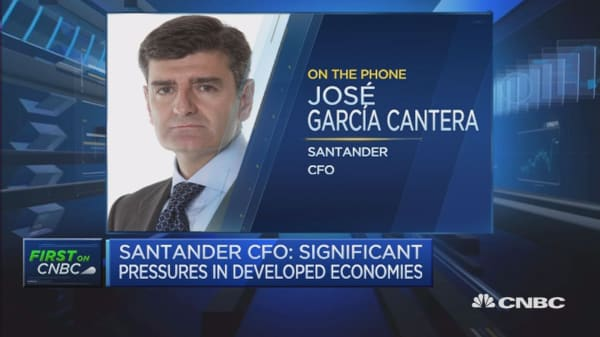 Santander CFO: Not worried about ECB stress tests