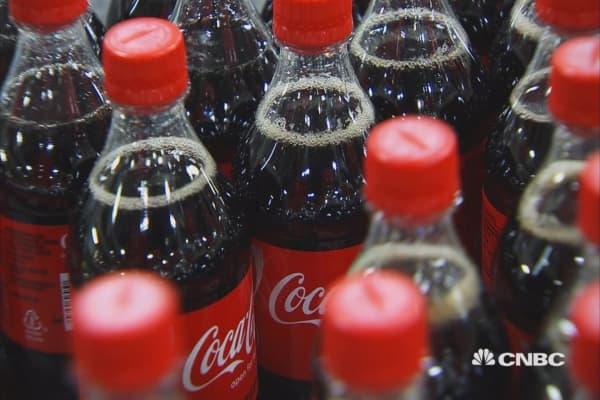 Coke reports mixed quarter