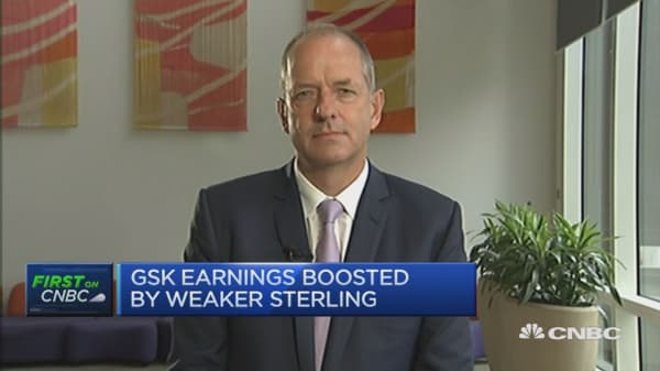 Very happy with second quarter performane: GSK CEO