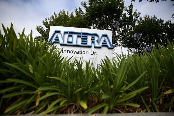Altera headquarters in San Jose, California