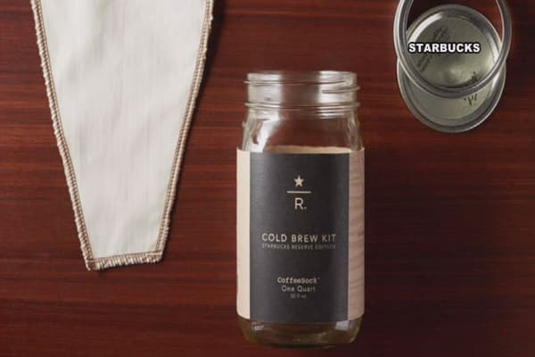 Starbucks debuts at-home Cold Brew Coffee Pitcher Packs