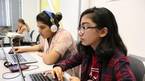 Nabeha Barkatullah, Girls Make Games student