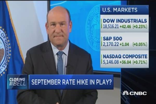Strong data could prompt a rate hike: Liesman