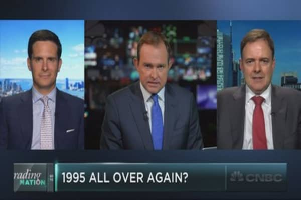 For stocks, is it 1995 all over again?