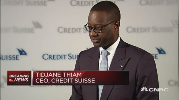 Brexit has no immediate impact: Credit Suisse CEO