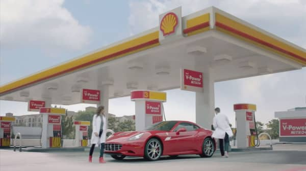 Shell stock tumbles on profit shortfall