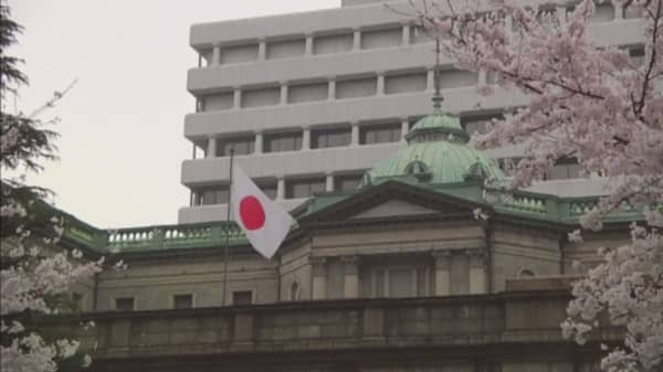 Bank of Japan under pressure after Abe's stimulus plan