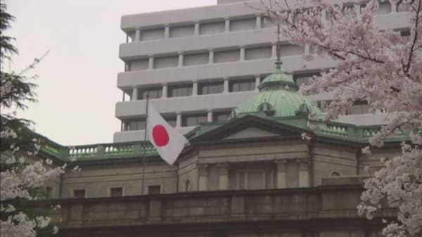 Bank of Japan under pressure after Abe's stimulus plan