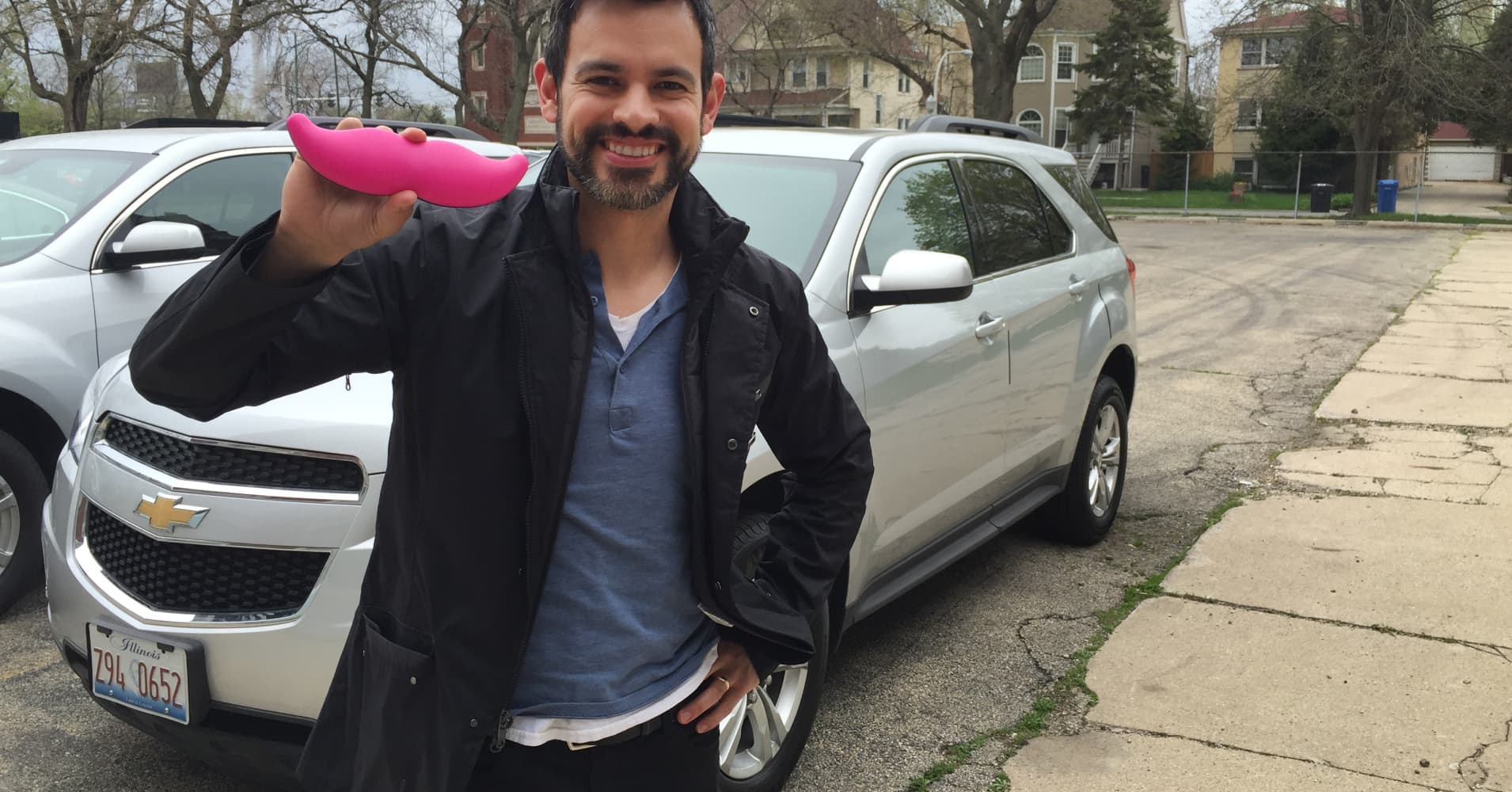 Anthony Ponce's podcast in which he interviews passengers in his Lyft car will air in August.