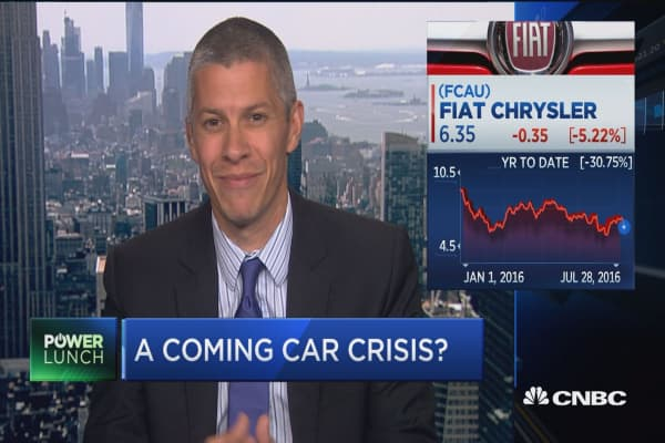 Coming car sales crisis?