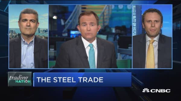 Steel stock talk
