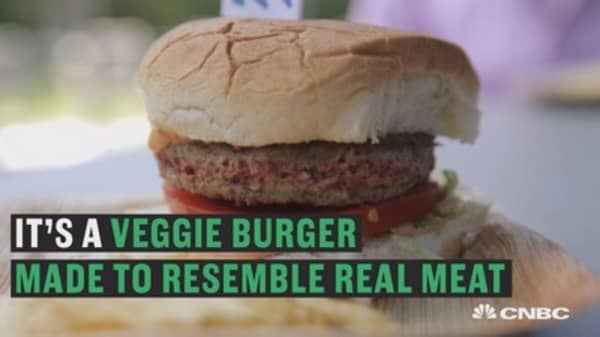 What the 'Impossible Burger' tastes like