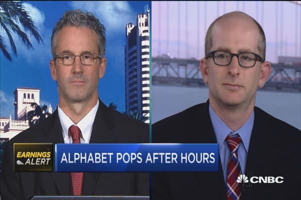 Analysts on Alphabet earnings