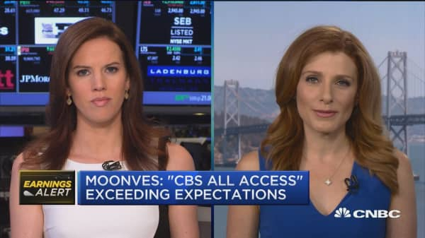 Moonves: Strongest upfront season in years